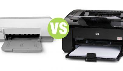 تفاوت چاپگرهای لیزری و جوهرافشان
