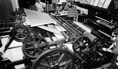 مختصری از تاریخچه ی صنعت چاپ